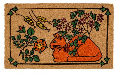Victoria and Albert Museum This Is the Cat Large Coir Doormat