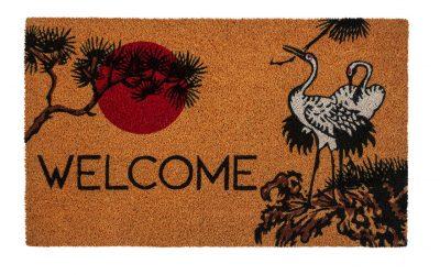 Victoria and Albert Museum Cranes Coir Doormat