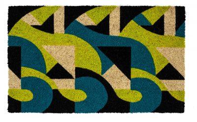 Victoria and Albert Museum Art Deco Coir Doormat