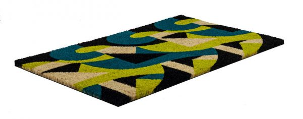 Victoria and Albert Museum Art Deco Coir Doormat
