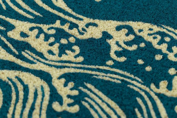 Victoria and Albert Museum Waves Coir Doormat