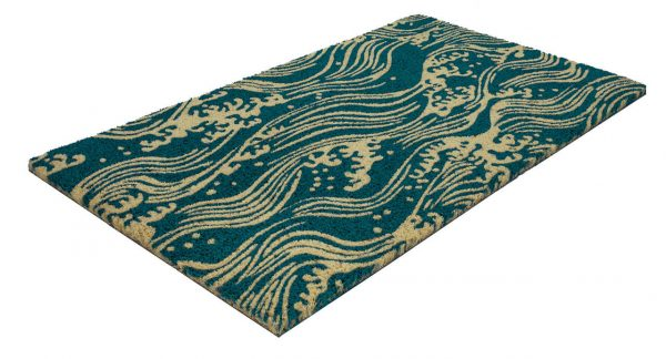 Victoria and Albert Museum Waves Coir Doormat